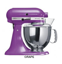 Load image into Gallery viewer, Kitchenaid Ksm150 5 Qt. 4.7 Liters Artisan Stand Mixer 220 Volts Export Only Grape