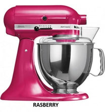 Load image into Gallery viewer, Kitchenaid Ksm150 5 Qt. 4.7 Liters Artisan Stand Mixer 220 Volts Export Only Raspberry Ice