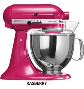 Kitchenaid Ksm150 5 Qt. 4.7 Liters Artisan Stand Mixer 220 Volts Export Only Raspberry Ice