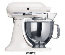 Load image into Gallery viewer, Kitchenaid Ksm150 5 Qt. 4.7 Liters Artisan Stand Mixer 220 Volts Export Only White