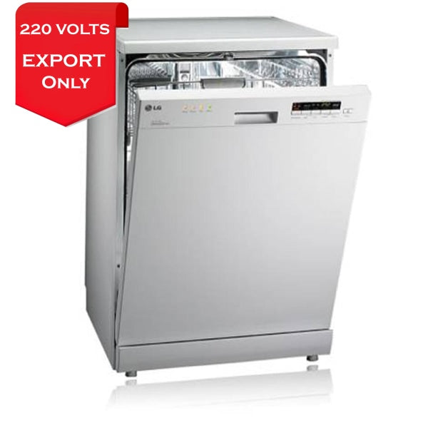 Lg D1452Wf Direct Drive Dishwasher With Smartrack 220-240 Volts 50Hz Export Only