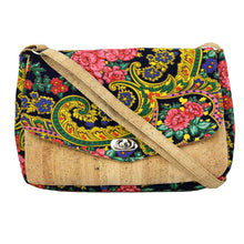 Load image into Gallery viewer, Handmade Vians's Scarf With Cork Crossbody Purse