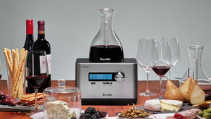 Breville BWD600SIL1BUS1 The Sommelier Decanter
