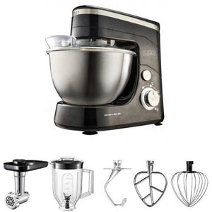 Midea Bm2096 Kitchen Machine Stand Mixer Blender & Meat Grinder 220 Volts Export Only Black Combo