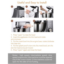 Load image into Gallery viewer, Midea Bm2096 Kitchen Machine Stand Mixer Blender & Meat Grinder 220 Volts Export Only Combo