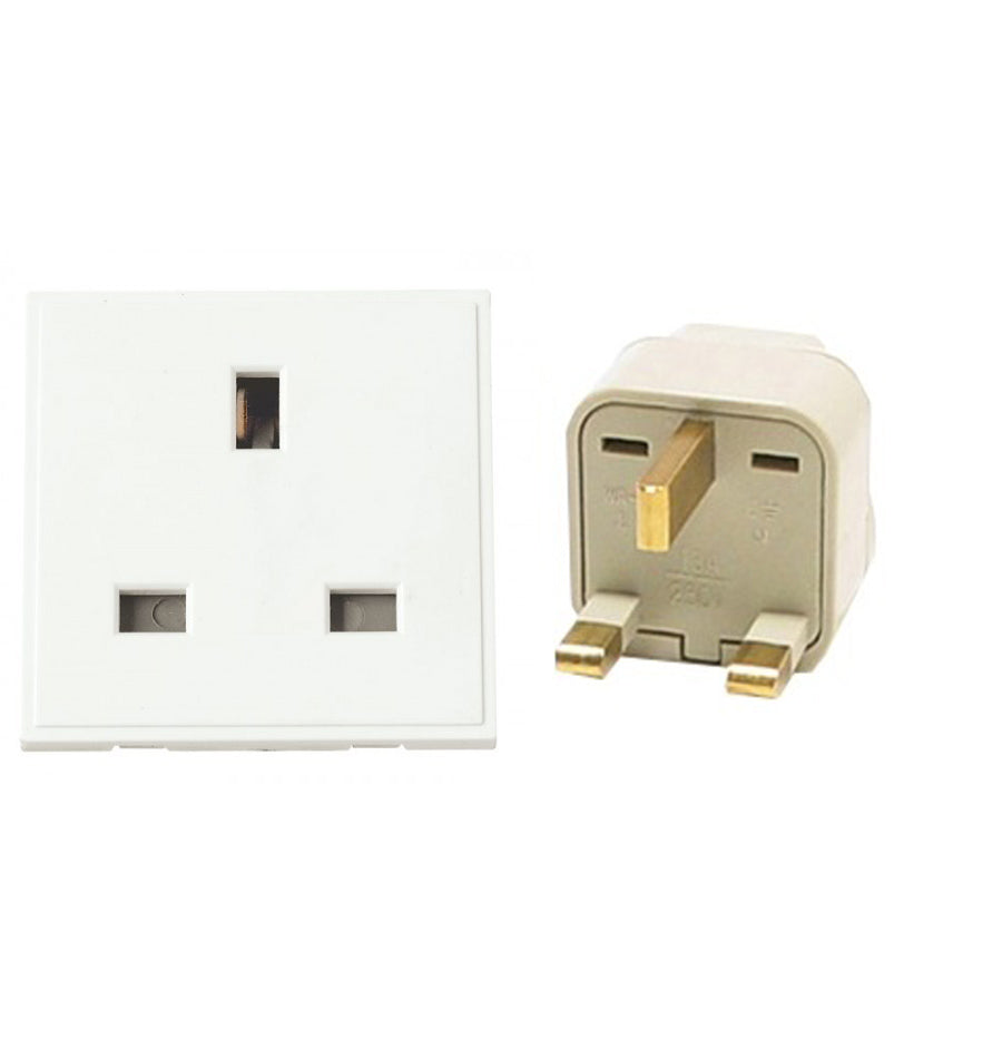 3 X Type G Universal Travel Plug Adapter UK