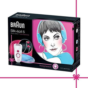 Braun Silk-épil 5 5187 Music Edition Epilator 120/240 Volts