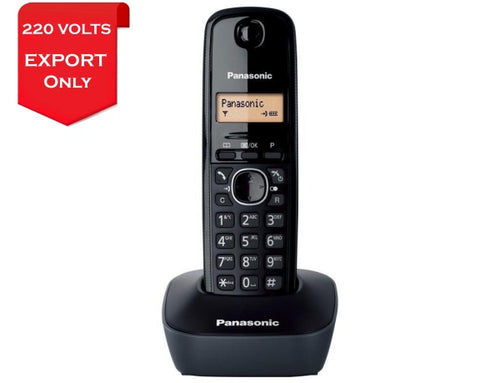 Panasonic Kx-Tg1611Fx Cordless Phone 220 Volts For Export Use Phone