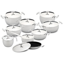 Load image into Gallery viewer, Silampos Yumi 18 Pieces Stainless Steel Cookware Set Made In Portugal
