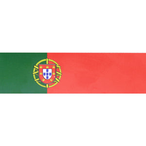 Portuguese Flag Flexible Refrigerator Magnet - Set of 3