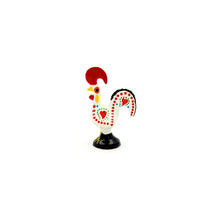 "1.5"" Traditional Portuguese Aluminum Decorative Figurine Good Luck Rooster - Set of 6"