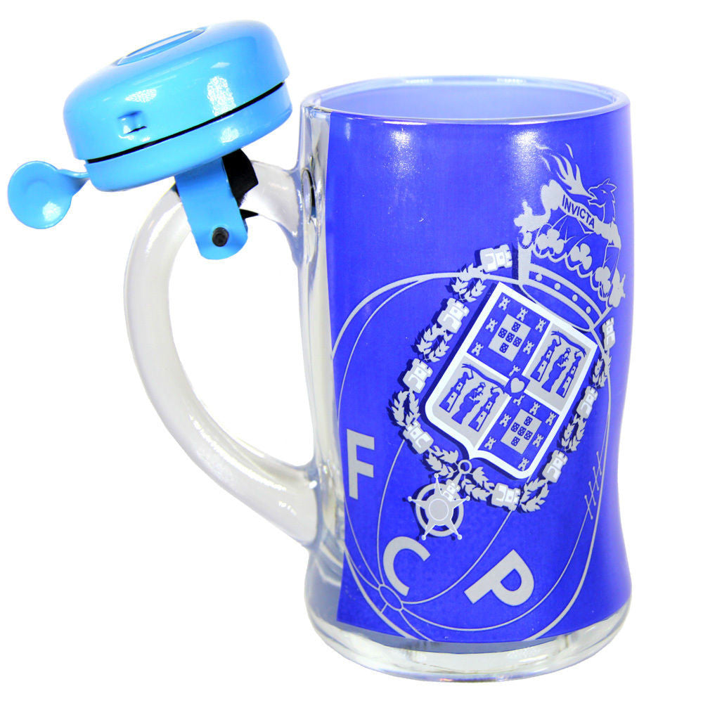 FC Porto Beer Mug With Bell And Gift Box Officially Licensed Product