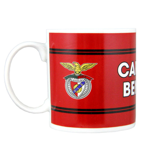 SL Benfica Coffee Mug With Gift Box Officially Licensed Product Ref 20016
