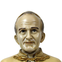 Load image into Gallery viewer, Hand Painted Pope Saint John Paul II Bust Statue Religious Figurine #600