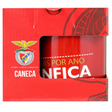 SL Benfica Coffee Mug With Gift Box Officially Licensed Product Ref 213