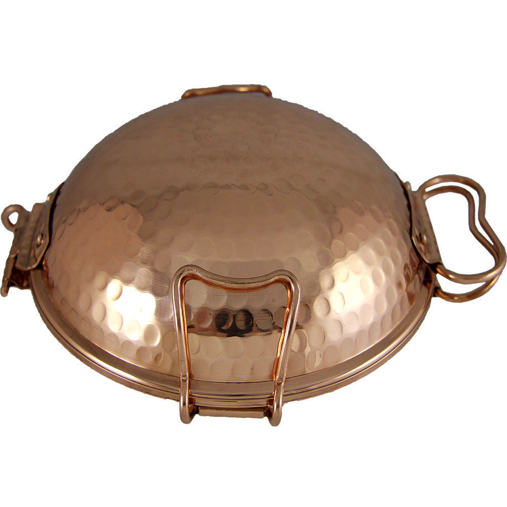 Made in Portugal Traditional Copper Cataplana Food Steamer Pot