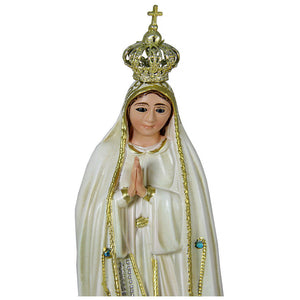 "9.5"" Our Lady Of Fatima Statue Virgin Mary Religious Statue #1033V"