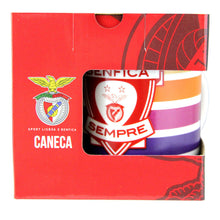 Load image into Gallery viewer, SL Benfica Coffee Mug With Gift Box Officially Licensed Product Ref 20003