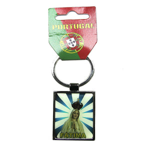 Our Lady Of Fatima Keychain Made In Portugal