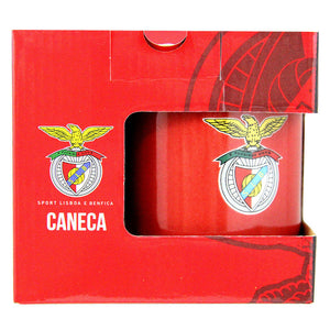 SL Benfica Coffee Mug With Gift Box Officially Licensed Product Ref 217