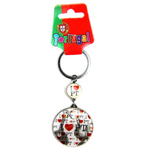 Load image into Gallery viewer, I Love Portugal Keychain Made In Portugal
