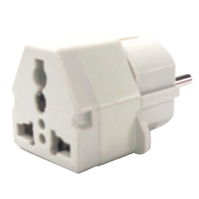 220 Volt Plug >> 3 X US AC Power Plug to Grounded AU EU Europe Travel Power ...