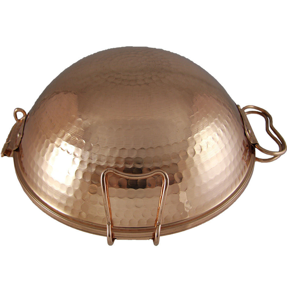 Made In Portugal Traditional Copper Cataplana Food Steamer