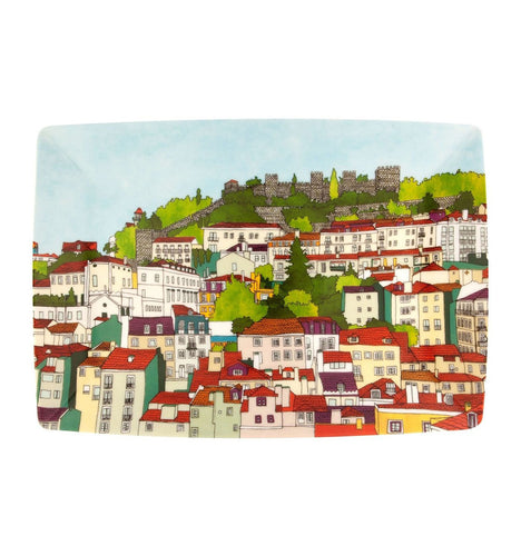 Vista Alegre Soul of Lisbon Porcelain Rectangular Plate