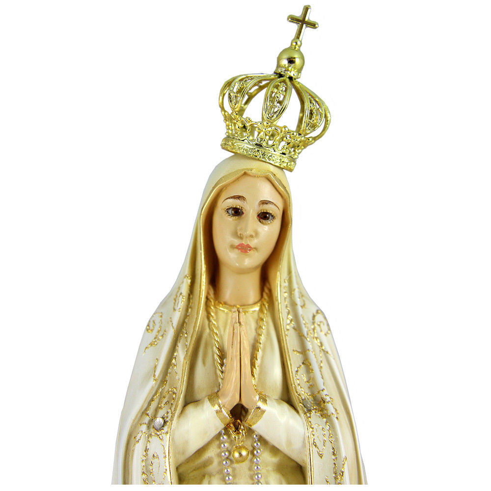 14 5 Quot Our Lady Of Fatima Statue Virgin Mary Religious