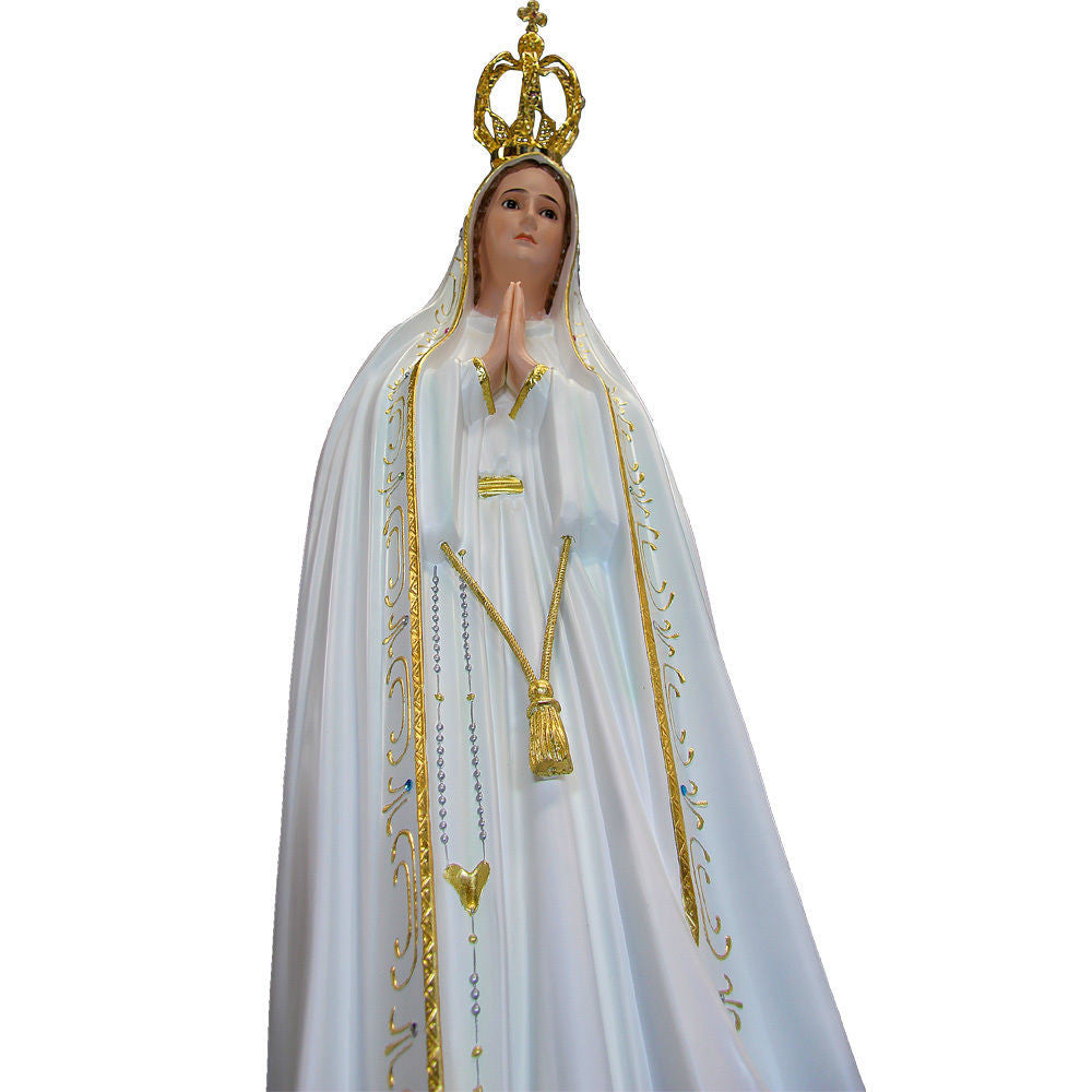 44 Quot Our Lady Of Fatima Statue Virgin Mary Religious Statue