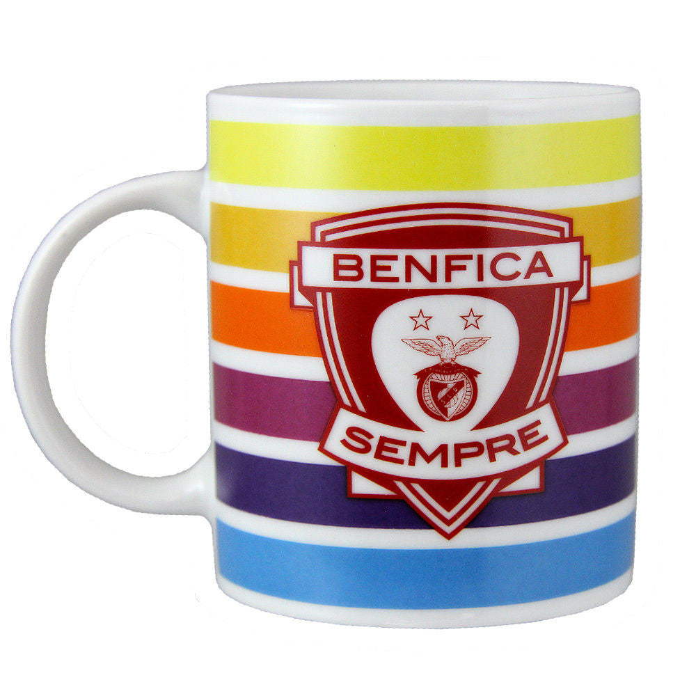 SL Benfica Coffee Mug With Gift Box Officially Licensed Product Ref 20003