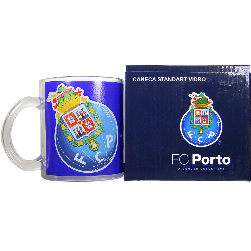 FC Porto Glass Coffe Mug With Gift Box Officially Licensed Product