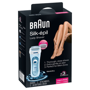Braun Silk-épil 5 SE5160WD Wet & Dry Legs & Body Epilator Battery Operated 120/240 Volts