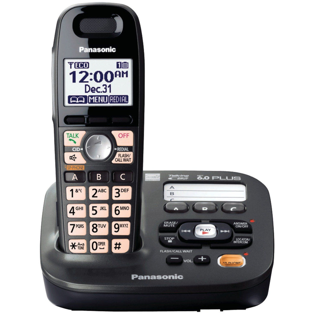 Panasonic KXTG6591 Cordless Phone with Answering Machine 110-220 Volts