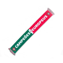 Load image into Gallery viewer, Portugal Euro 2016 European Champions Campeões Europeus Official Scarf