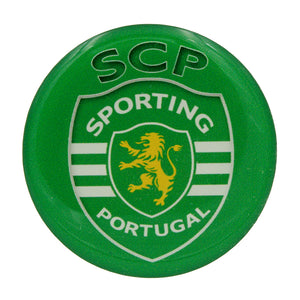 2 Inch Round Sporting CP Resin Domed 3D Decal Car Sticker - Set of 3
