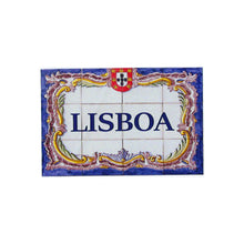 Load image into Gallery viewer, Traditional Portuguese Tiles Lisbon Vinyl Sticker - Set of 3