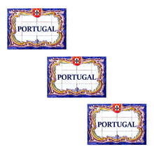 Load image into Gallery viewer, Traditional Portuguese Tiles Vinyl Sticker - Set of 3