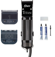 Oster 76076-310 Titan 2 Speed Professional Hair Clipper Blades 000 & 1 110 Volts