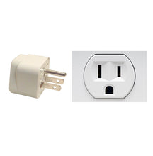 3 X AU UK EU TO US AC Travel Power Adapter Converter Wall Plug