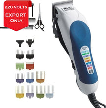 Load image into Gallery viewer, Wahl 79400 Color Pro Coded Mains Hair Clipper 20-Piece Kit 220-240 Volts 50/60Hz Export Only Trimmer