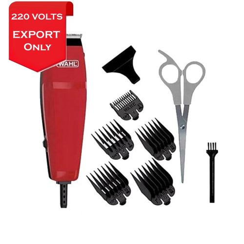 Wahl 9314-2758 Easy Cut 10-Pieces Haircutting Kit Clipper 220 Volts Export Only Trimmer