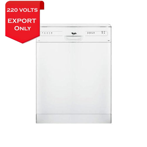 Whirlpool Adp2300Wh Self Heating Dishwasher 220-240 Volts 50Hz Export Only