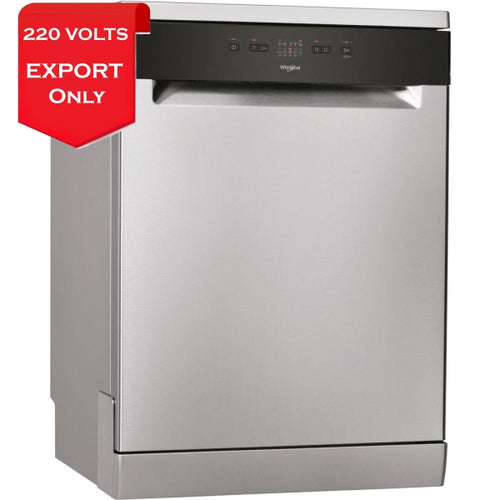 Whirlpool Wfe2B19X Stainless Steel Dishwasher 220-240 Volts 50Hz Export Only