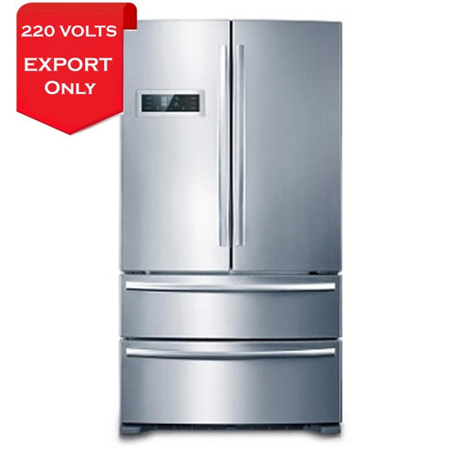 Whirlpool Whc705En French Door 20.2 Cu Ft Stainless Steel Refrigerator 220-240 Volts 50Hz Export