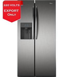 Whirlpool Wrs49Akdwc Side-By-Side Refrigerator 220-240 Volts 50Hz Export Only