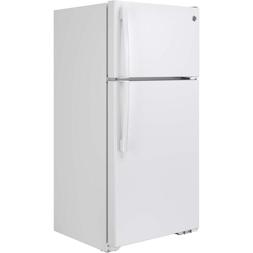 GE® GTS15CTHRWW 14.6 Cu. Ft. Top-Freezer Refrigerator- 110 Volts