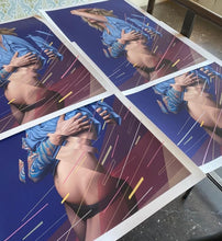 "James Bullough ""Gravity"" Print Standard Edition"