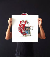 "Alvaro Naddeo ""Mad As Hell"" Print"
