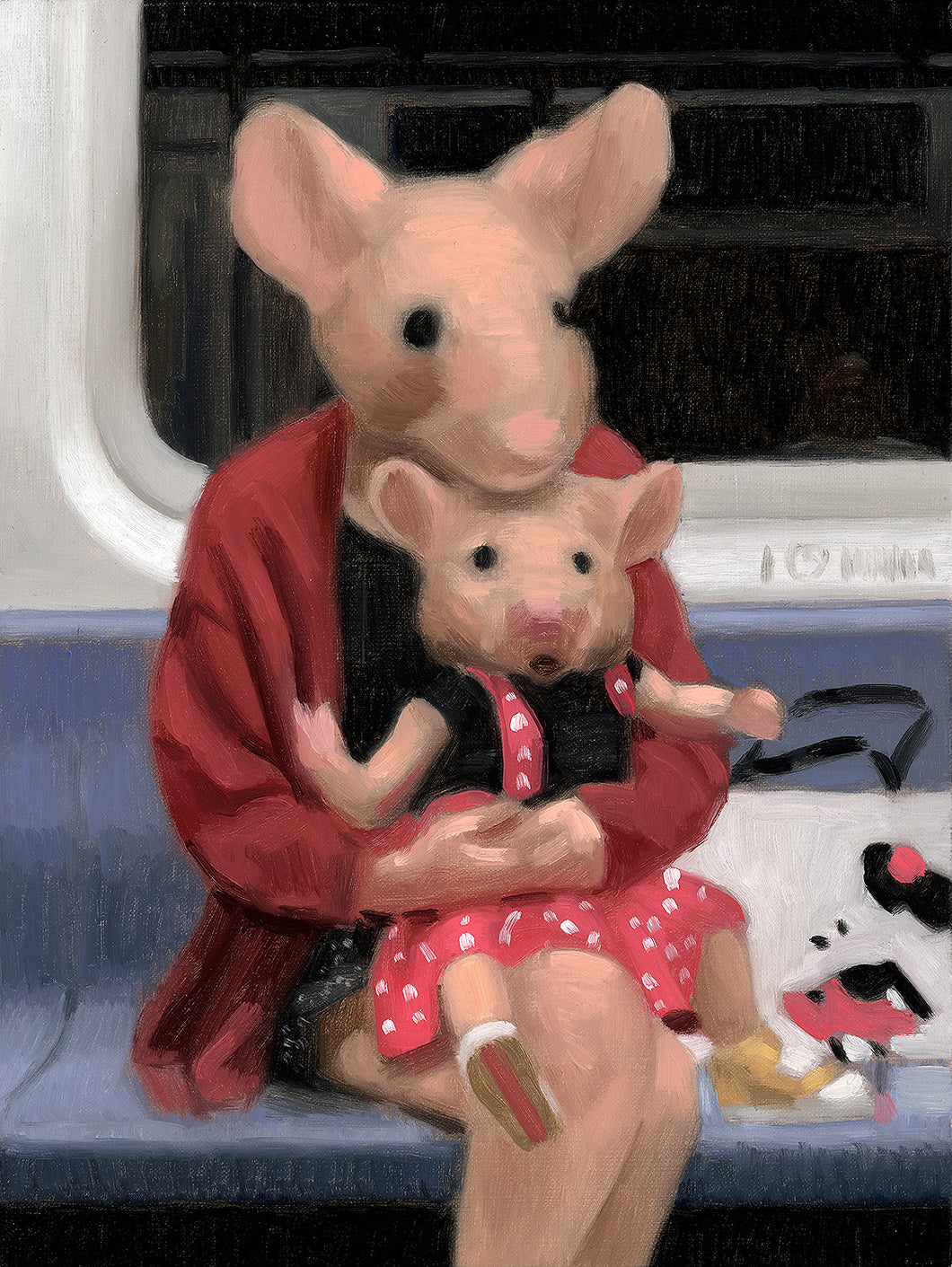 "Matthew Grabelsky ""Study For Mini Minnie"""